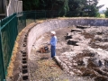Basin wall 2