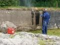 Basin wall 1