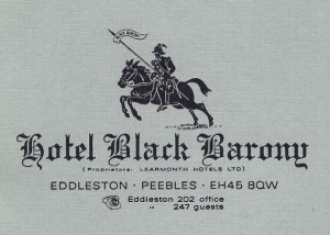 01 Hotel Black Barony letterhead